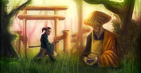 O Samurai e o Monge