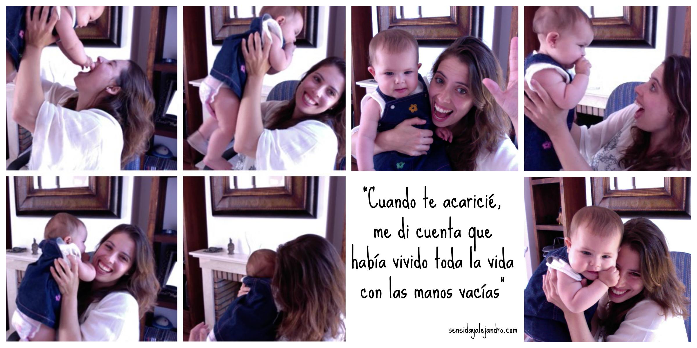 """""""El amor por un hijo te cambia la visión de la vida"""" Seneida Miguel"""
