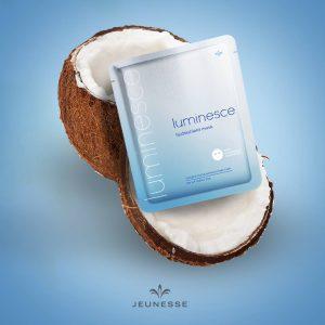 Luminesce HydraShield Mask - biocelulose de coco