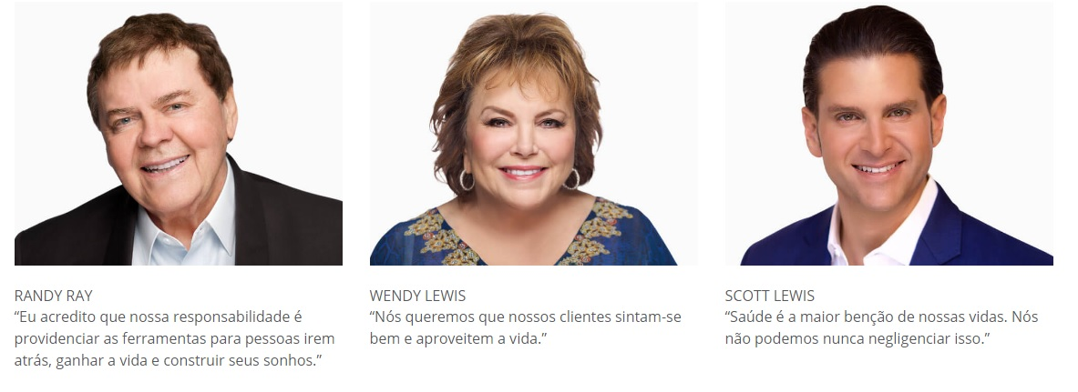 Fundadores da Jeunesse Global